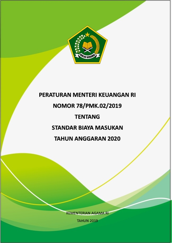 PMK 78 Tahun 2019 tentang SBM TA. 2020