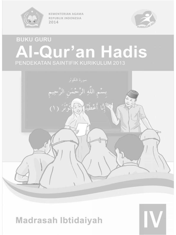Al-Qur'an Hadis MI Kelas 4_Guru