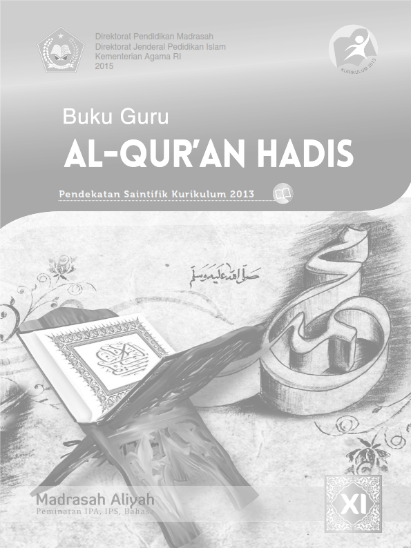 Al-Qur'an Hadis MA (IPA-IPS-Bahasa) Kelas 11_Guru