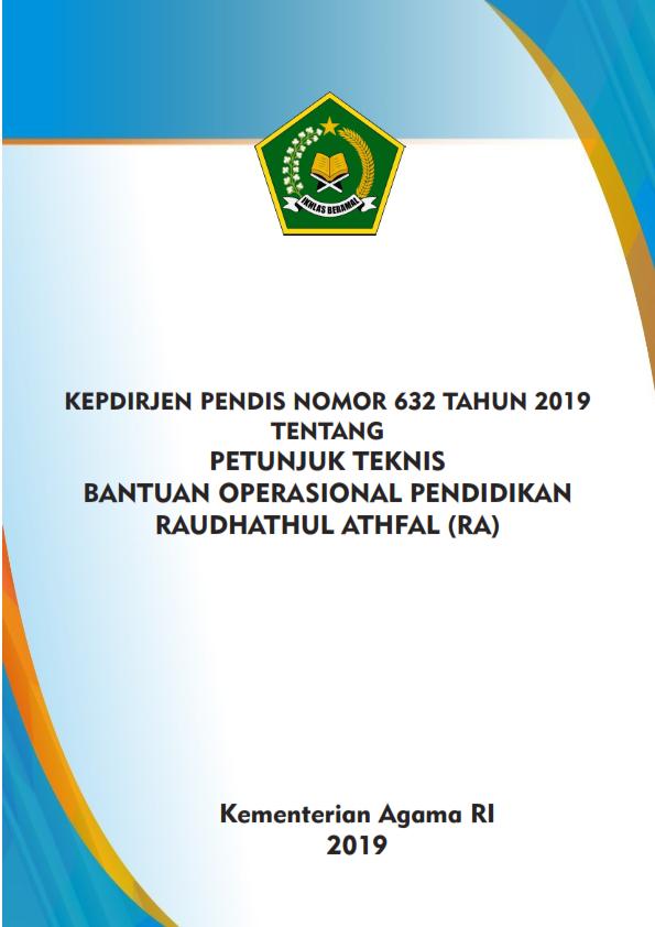 Juknis BOP RA Tahun 2019