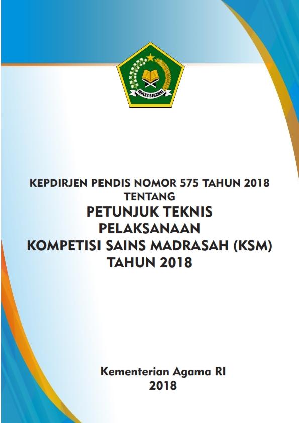 Juknis KSM Tahun 2018