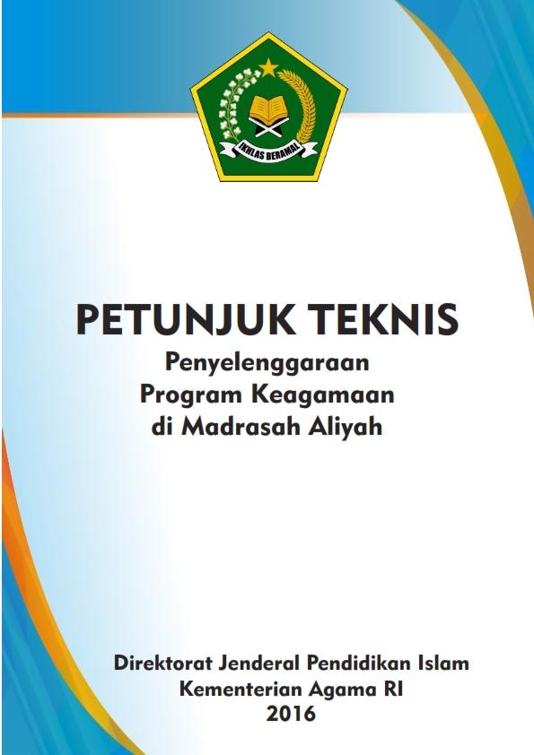 Juknis Penyelenggaraan Program Keagamaan pada MA