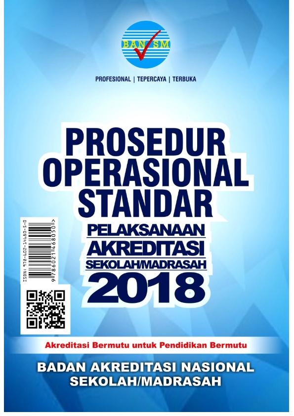 POS Akreditasi Madrasah Tahun 2018
