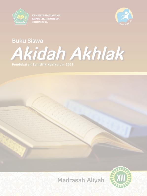 Akidah Akhlak MA (IPA-IPS-Bahasa) Kelas 12_Siswa