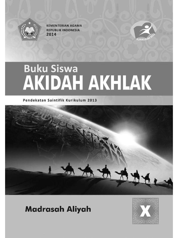 Akidah Akhlak MA (IPA-IPS-Bahasa) Kelas 10_Siswa