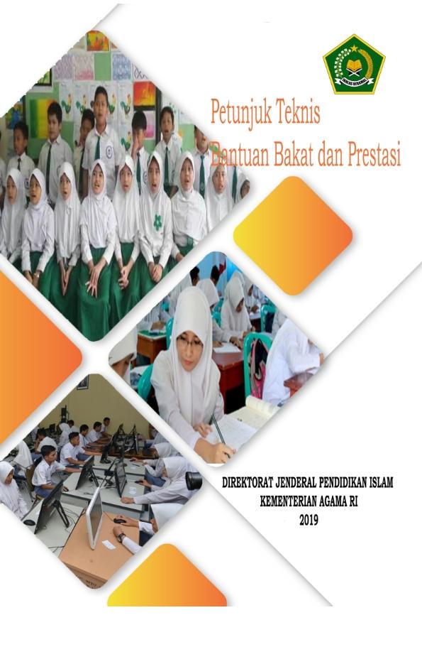 Juknis Bantuan Bakat Prestasi Siswa Madrasah tahun 2019