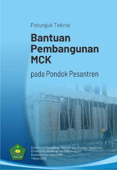 Juknis Bantuan Pembangunan MCK Pondok Pesantren Tahun 2019