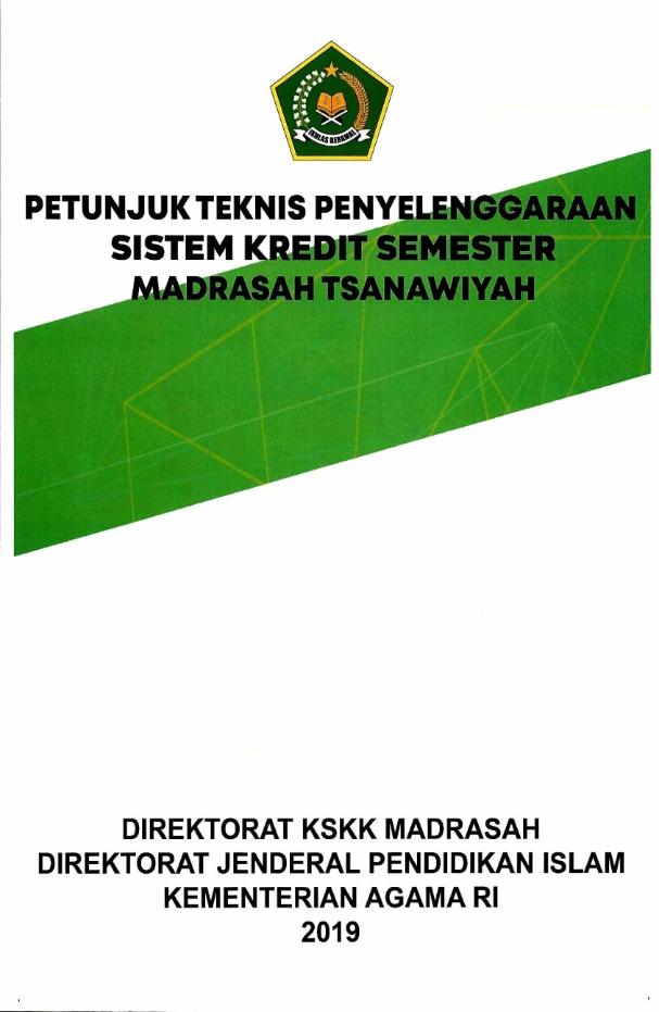 Juknis Penyelenggaran SKS pada MTs