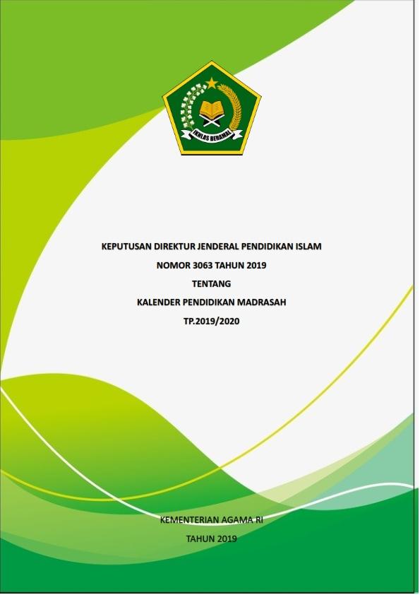 Kalender Pendidikan Madrasah TP.2019/2020
