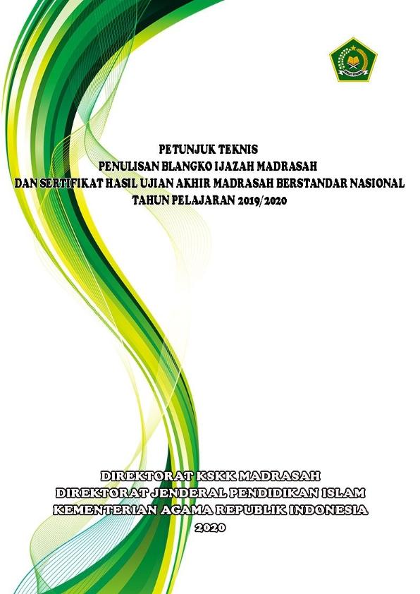 Juknis Penulisan Ijazah dan SHUAMBN TP.2019/2020