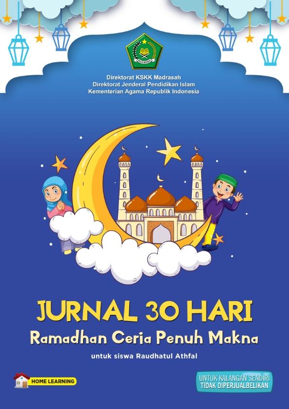 Jurnal Ramadhan Ceria Untuk Siswa RA