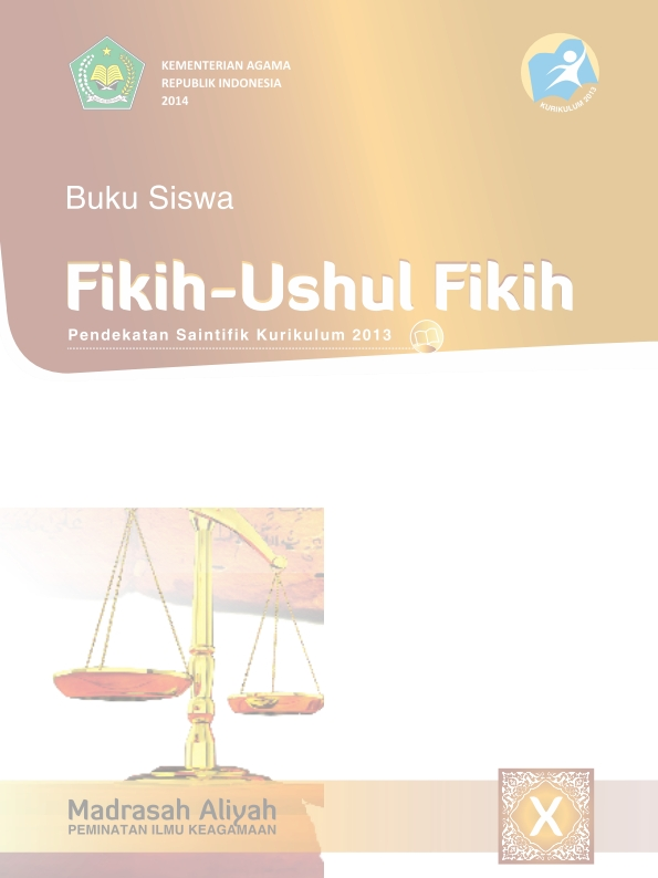 Fikih-Ushul Fikih MA (Agama) Kelas 10_Siswa