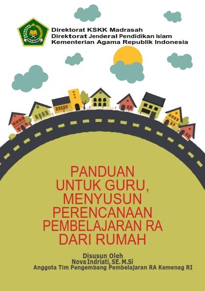 Buku Panduan Guru Menyusun RPP RA dari Rumah