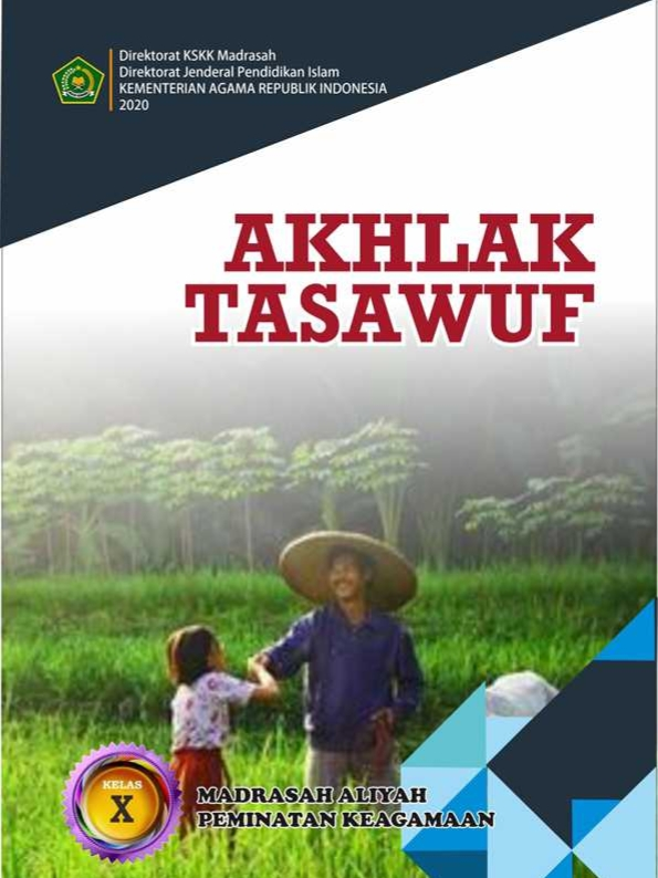 Akhlak Tasawuf MA (Agama) Kelas 10