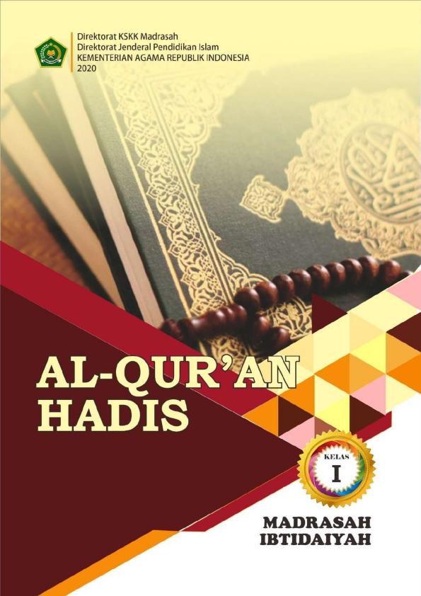 Al-Quran Hadis MI Kelas 1