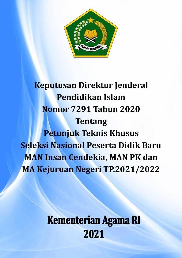 Juknis SNPDB MAN IC, MAN PK dan MAKN TP.2021/2022